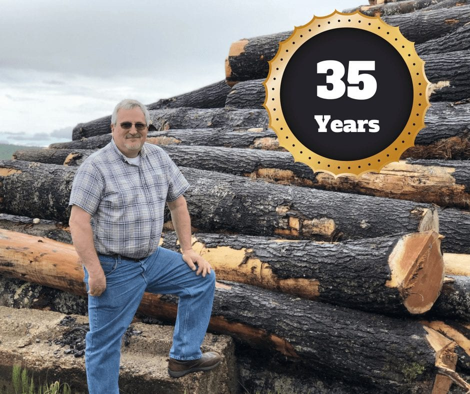 Matt Masse 35 Years with Hammond Lumber