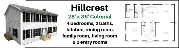 The Hillcrest Home package from Hammond Lumber