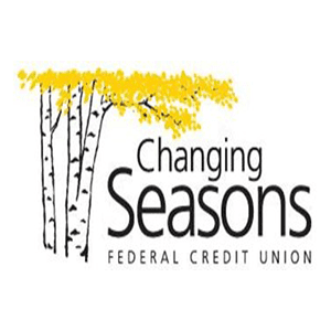 changing seasons federal credit union logo