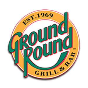 ground round grill and bar logo