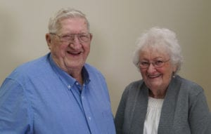 photo of Richard Salsbury and his wife, Jinny