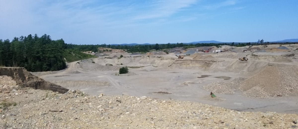 photo of a gravel pit