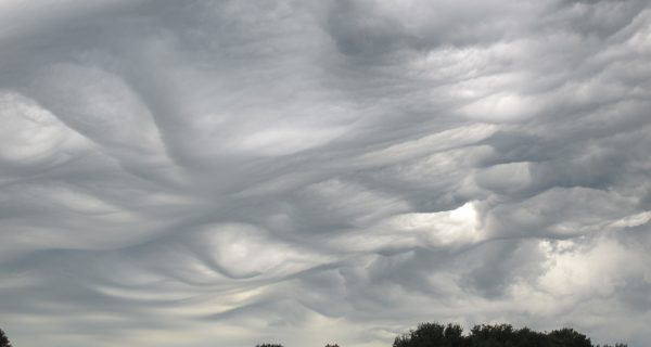 photo of an interesting cloud formation