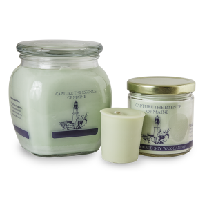 Colley Hill Soy Candles - Capture the Essence of Maine - Green
