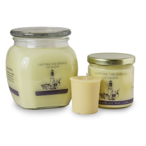 Colley Hill Soy Candles - Capture the Essence of Maine - Yellow