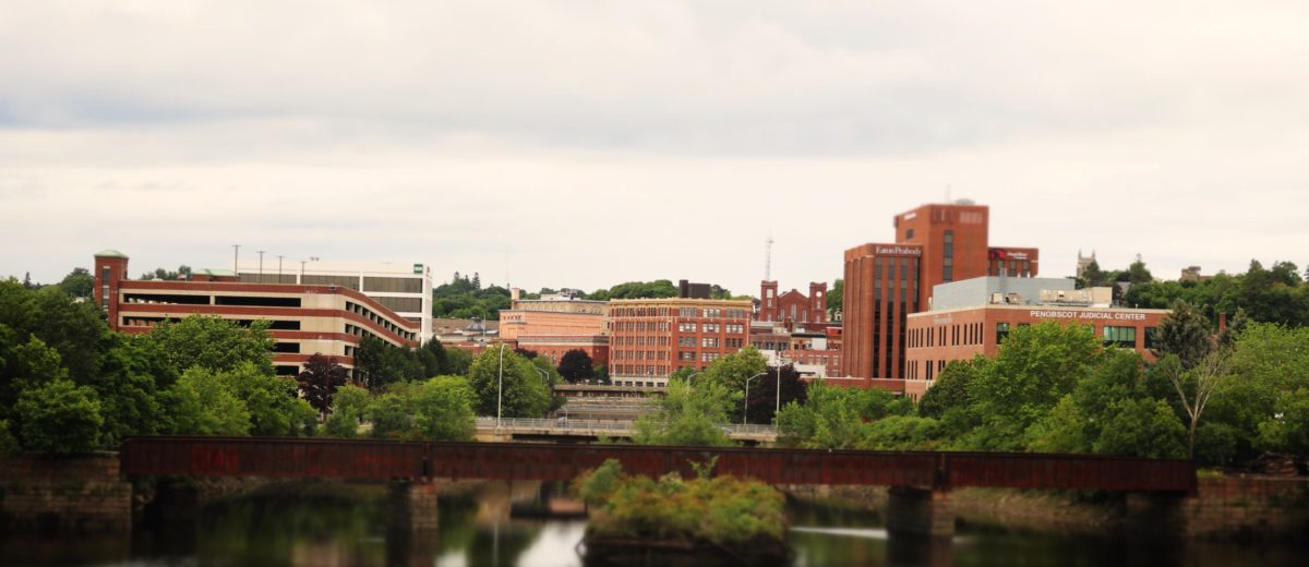 photo of downtown Bangor maine