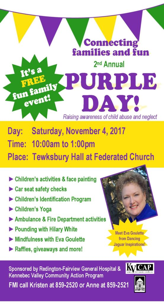 2nd annual purple day flyer