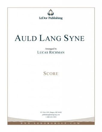 auld lang syne score cover