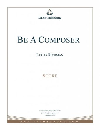be a composer score cover