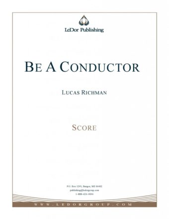 be a conductor score cover