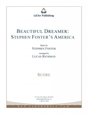 beautiful dreamer: stephen foster's america score cover