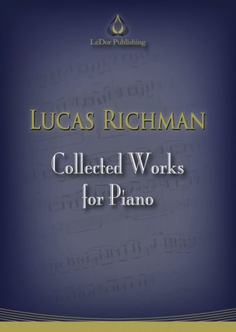 lucas richmand collected works for piano cover