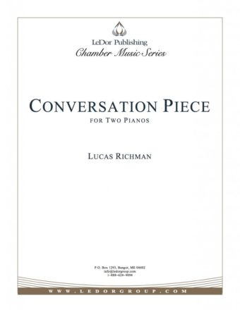 conversation piece for two pianos cover