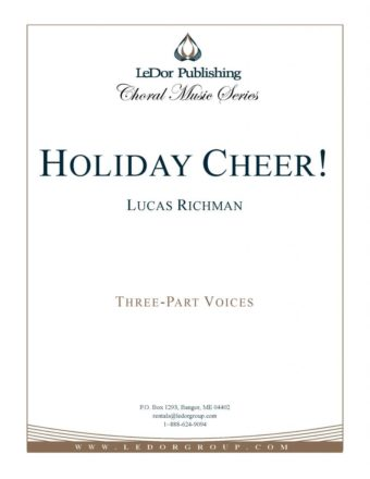 holiday cheer! three-part voices cover