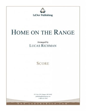 home on the range score cover