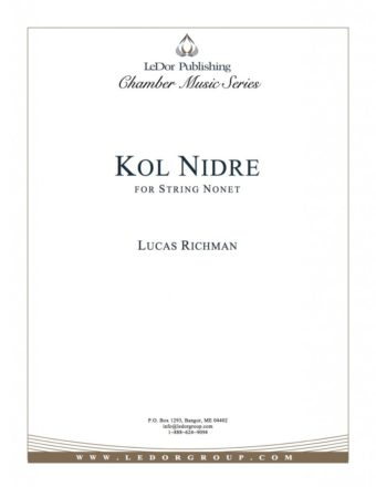 kol nidre for string nonet cover