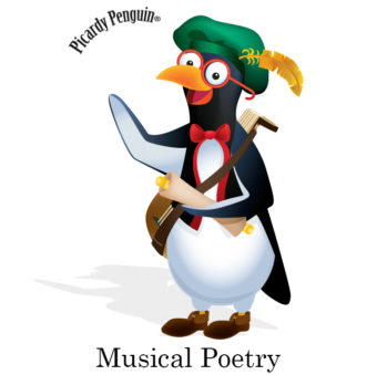 picardy penguin musical poetry graphic