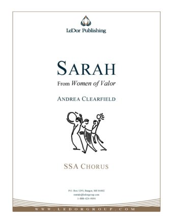 sarah from women of valor ssa chorus cover