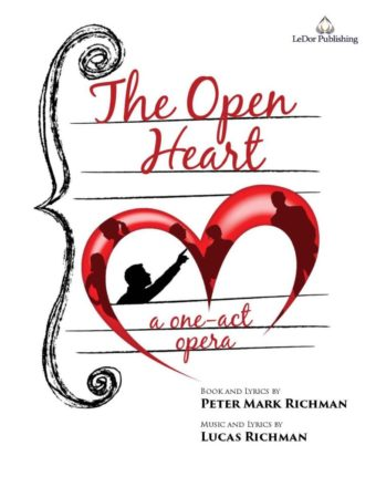 the open heart a one-act opera poster