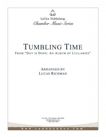 """tumbling time from """"day is done: an album of lullabies"""" cover"""