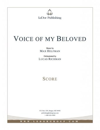 voice of my beloved score cover