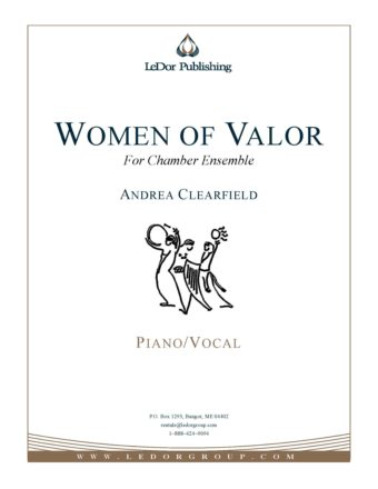 women of valor for chamber ensemble piano/vocal cover