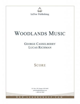 woodlands music score cover