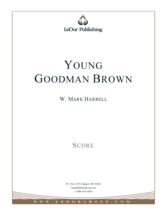 Young Goodman Brown Score Cover