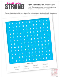 credit-union-strong-word-search