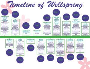 Timeline of Wellspring : 1965-2012